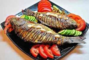 Вкусная рыбка в духовке