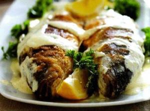 Рыба под домашним соусом