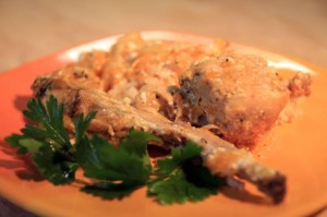 Блюдо в сметанном соусе