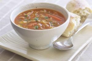 Диетический суп из кролика
