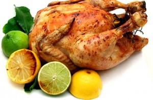 курица в духовке гриль