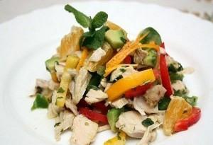 салат с курицей3