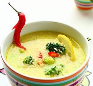 суп индийский из курицы