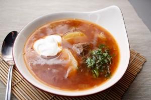 суп картофельный из говядины