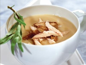 суп пюре из курицы
