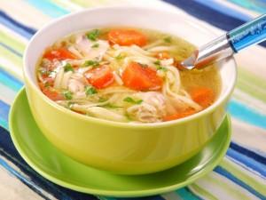 суп с вермишелью из курицы