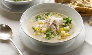 суп с горохом из курицы
