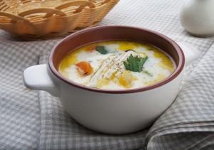 сырный суп из курицы
