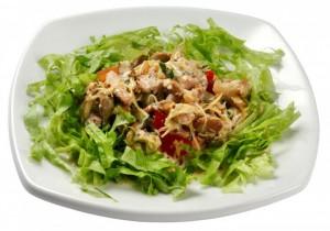 Салат с гранатовыми зернами