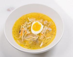 Суп с потрохами и лапшой