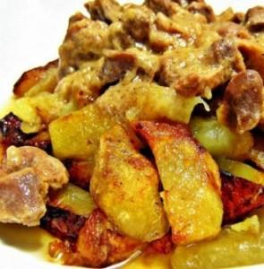 Второе блюдо с картошкой