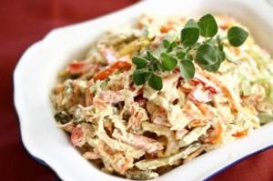 Необычный салат