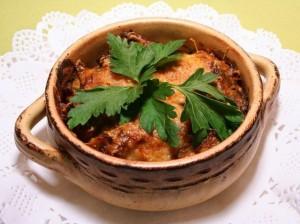 meat in a pot