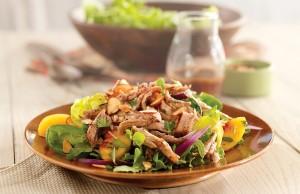 салат из сердца свиного