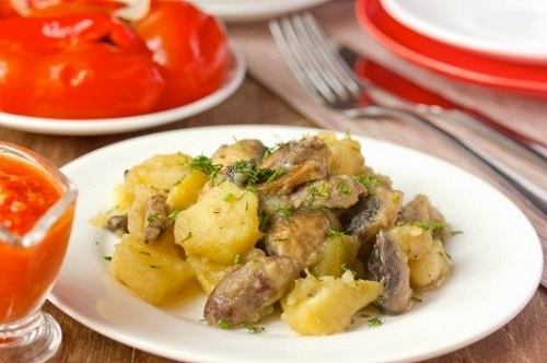 сырно-сметанный соус для сердечек