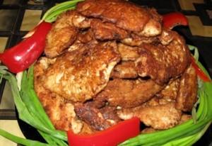 Куриные сердечки в кляре