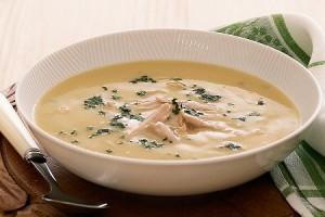 Насыщенный суп-пюре