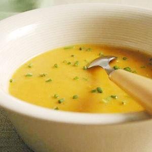 Овощной суп-пюре из молодой капусты и кабачков