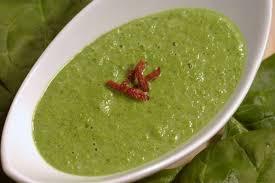 Суп с брокколи и шпинатом2