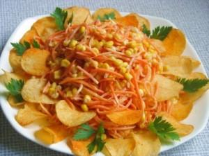 Блюда с морковью по-корейски