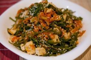 Использование морской капусты в салатах