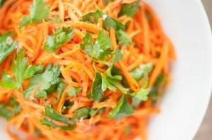 Морковь в приготовлении салатов