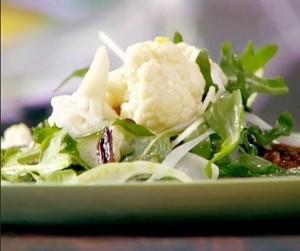 Обилие салатов из цветной капусты