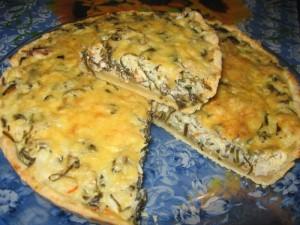 Пирог с ламинарией