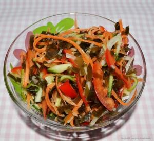 Салат с морковью и болгарским перцем