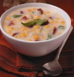 Крем-суп с молоком и перцем