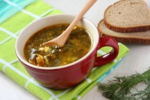 Суп с тушёнкой
