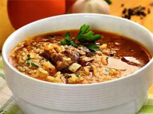 Суп-харчо с картошкой