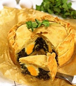 Традиционный итальянский пирог