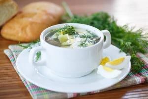 суп из щавеля и крапивы рецепт