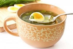 суп из щавеля рецепт с яйцом