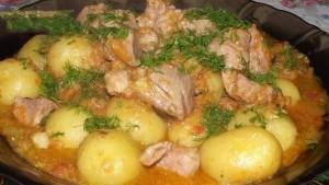 Рагу со свининой