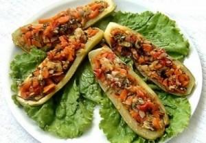 Салат с фаршем по-корейски