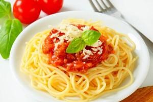 Спагетти с пармезаном