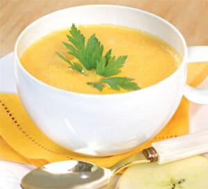 Сырно-овощной суп-пюре