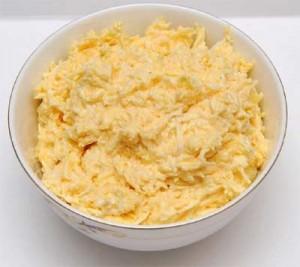 Закусочный салат «Белочка»