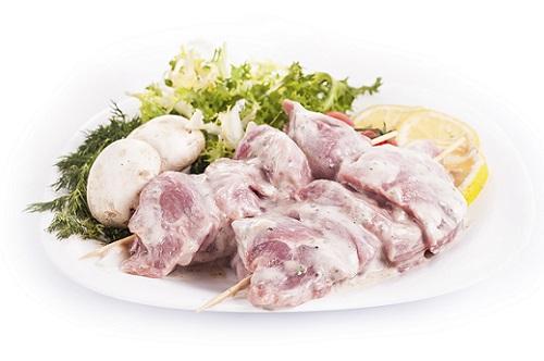 замариновать свинину в кефире