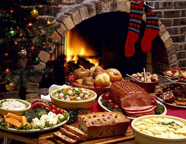 Новогодние блюда 2019