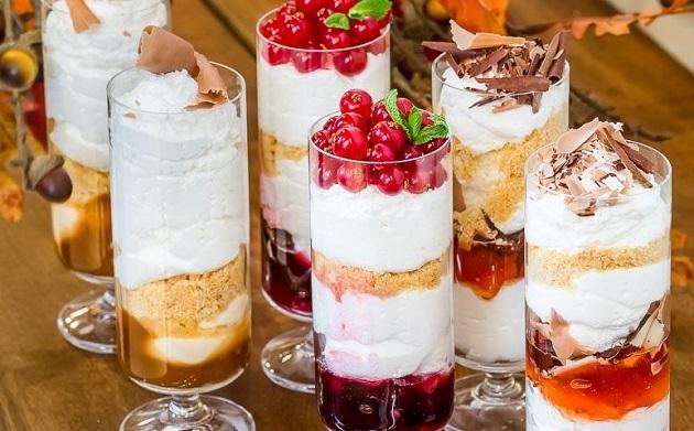 Десерт на Новый год 2019