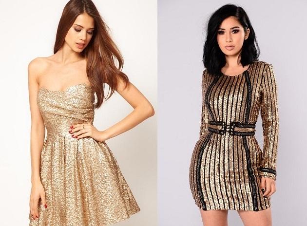 Выбор платья на Новый год