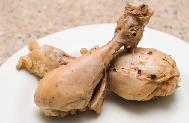 вареная куриная голень