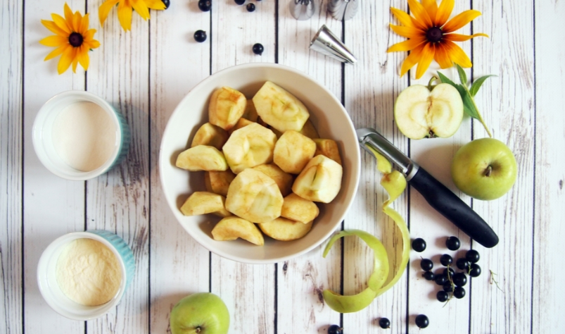 яблоки для зефира