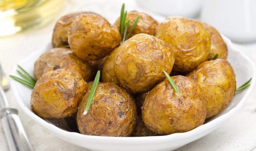 картошка на пару
