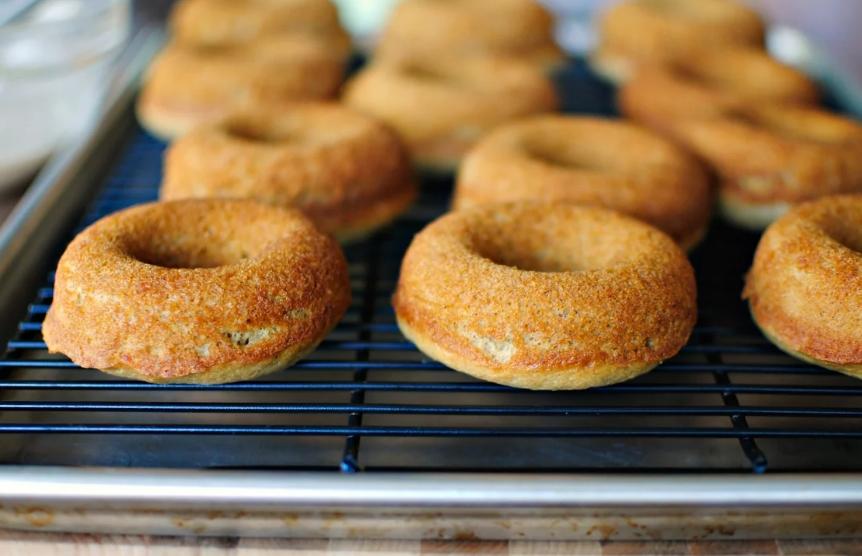 пончик в духовке